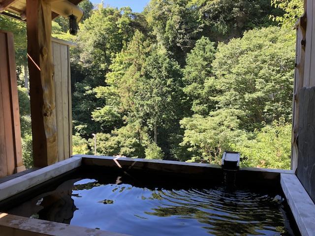福水の露天風呂